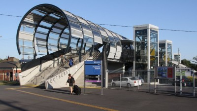 Footscray Station Footbridge