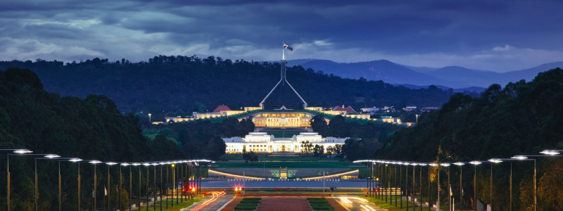 Canberra Federal Budget 2020 2021